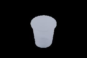 Стакан одноразовый Buroclean термостойкий 100 мл, прозрачный, 100 шт