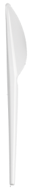 Нож одноразовый Buroclean 16 см, белый, 100 шт