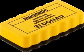 Губка магнитная для досок DONAU, желтая