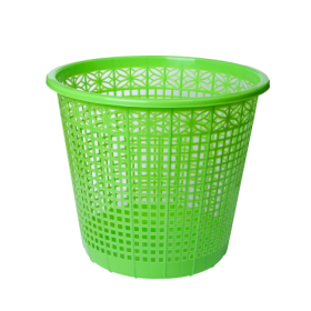 Корзина для бумаг пластиковая ZiBi 8 л, салатовая