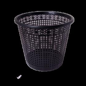 Корзина для бумаг пластиковая BUROMAX JOBMAX 8 л, черная