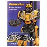 Картон белый  KITI Transformers А4, 10 листов