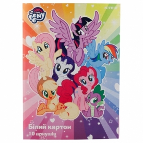 Картон белый KITE My Little Pony A4, 10 листов