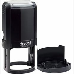 Оснастка для круглой печати Trodat Printy 4642 d 42 мм с колпачком, черная