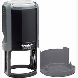 Оснастка для круглой печати Trodat Printy 4642 d 42 мм с колпачком, серая