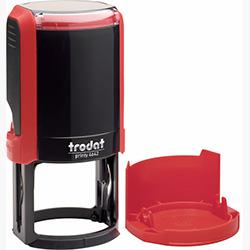 Оснастка для круглой печати Trodat Printy 4642 d 42 мм с колпачком, красная
