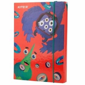 Папка для тетрадей на резинке KITI В5, Hello Kite