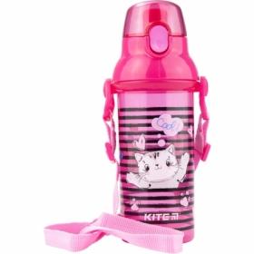 Бутылочка для воды KITE 470 мл, розовая