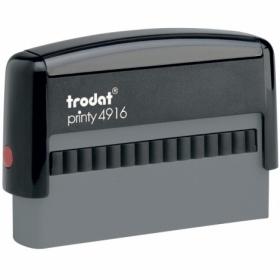 Самонаборный текстовый штамп Trodat 2-строчный