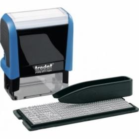 Самонаборный текстовый штамп Trodat 3-строчный