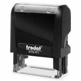 Самонаборный текстовый штамп Trodat 5-строчный