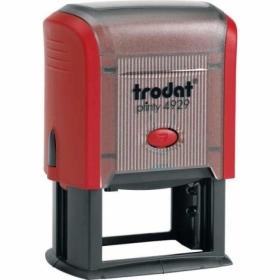 Самонаборный текстовый штамп Trodat 6-строчный
