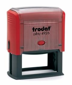 Самонаборный текстовый штамп Trodat 8-строчный