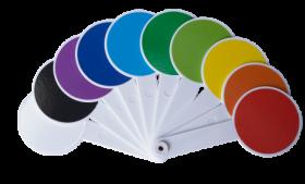 Набор цветов и геометрических фигур ZiBi