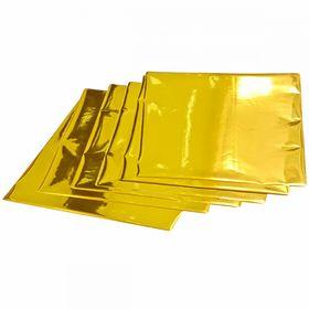 Фольга А4, золото, 100 шт
