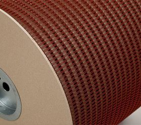Металлическая пружина в бобине 12.7 мм, Р 24 000 петель, 3:1 красная