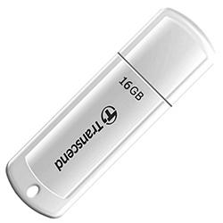 Флеш-память Transcend 370White, 16GB
