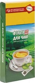 Фильтр-пакеты для чая, 100 шт