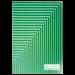Книга канцелярская Buromax JOBMAX А4, 48 листов, клетка, ассорти - №5
