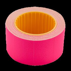 Ценник прямоугольный Buromax 30х20 мм, 300 шт, малиновый