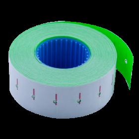 Ценник прямоугольный Buromax 22х12 мм, 1000 шт, зеленый