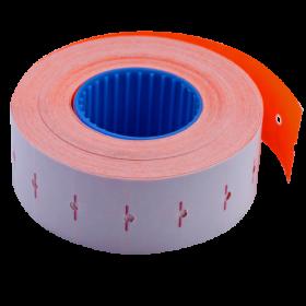 Ценник прямоугольный Buromax 22х12 мм, 1000 шт, оранжевый