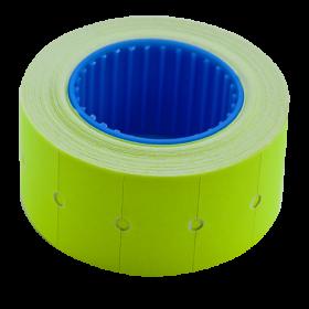 Ценник прямоугольный Buromax 22х12 мм, 500 шт, желтый