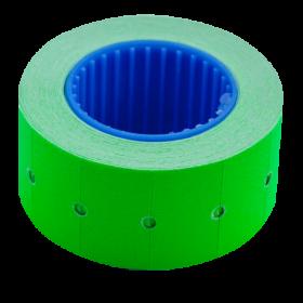 Ценник прямоугольный Buromax 22х12 мм, 500 шт, зеленый