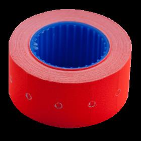 Ценник прямоугольный Buromax 22х12 мм, 500 шт, красный