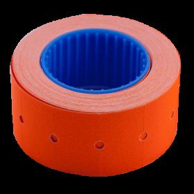 Ценник прямоугольный Buromax 22х12 мм, 500 шт, оранжевый