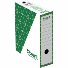 Бокс архивный Axent А4, 100 мм, зеленый