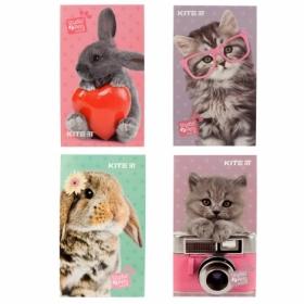 Блокнот-планшет KITE Studio Pets-2 A6, 50 листов, без линовки