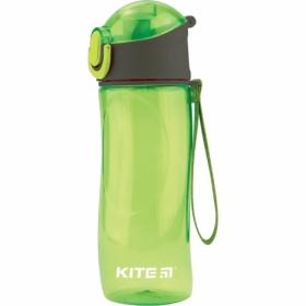 Бутылочка для воды KITE 530 мл, зеленая