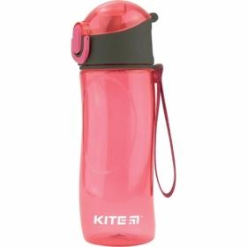 Бутылочка для воды KITE 530 мл, розовая