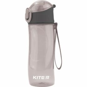 Бутылочка для воды KITE 530 мл, серая