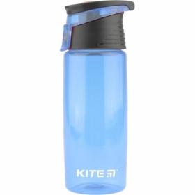 Бутылочка для воды KITE 550 мл, голубая