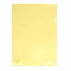 Папка-уголок Axent А4, 170 мкм, желтая