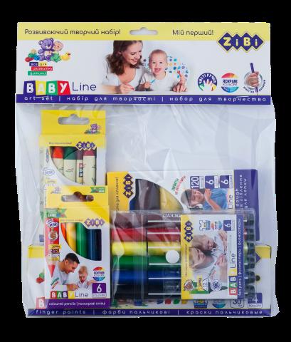 Набор для детского творчества ZiBi Baby Line, 5 предметов