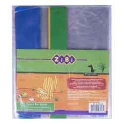 Набор обложек для тетрадей Zibi KIDS Line с клапаном, 5 шт, ассорти