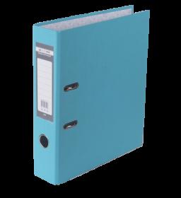 Папка-регистратор Buromax JOBMAX LUX А4, 70 мм, PP, голубая