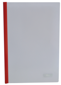 Папка  со скоросшивателем Buromax А4, 160 мкм, красная