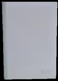 Скоросшиватель с планкой Buromax А4, 15 мм, РР, белый
