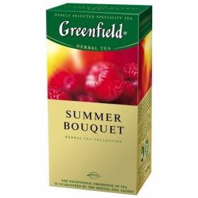 Чай травяной в пакетиках Greenfield SUMMER BOUQUET, 25 шт х 2г
