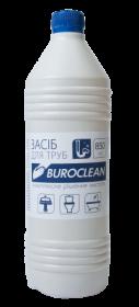 Средство для чистки труб Buroclean жидкое, 850 мл
