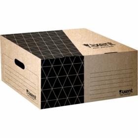Короб для архивных боксов Axent, крафт