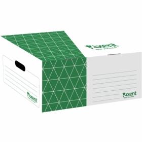 Короб для архивных боксов Axent, зеленый