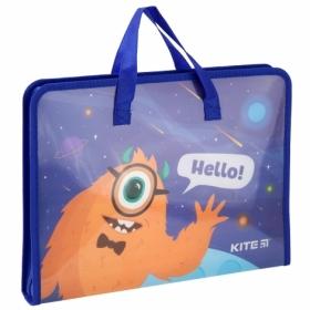 Пластиковый портфель KITE Jolliers A4, 1 отделение