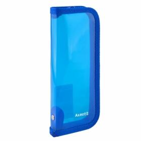 Пенал жесткий Axent, 1 отделение, синий