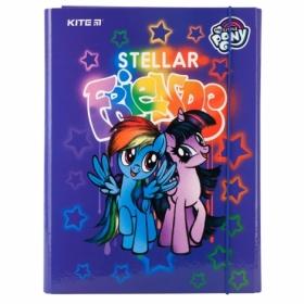Папка для труда на резинке Kite А4,  My Little Pony