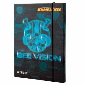 Папка для тетрадей на резинке КІТЕ Transformers В5